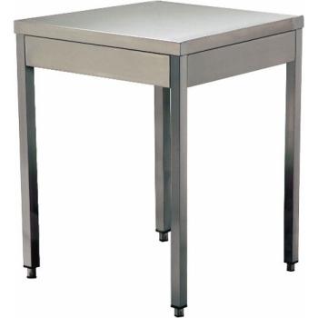 TABLE DE TRAVAIL INOX -