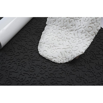 TAPIS RELIEF SILICONE ARABESQUE