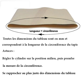 TAPIS LAMINOIRS-BANDES TRANSPORTEUSES - ADAPTABLE  MARCHAND BONGARD