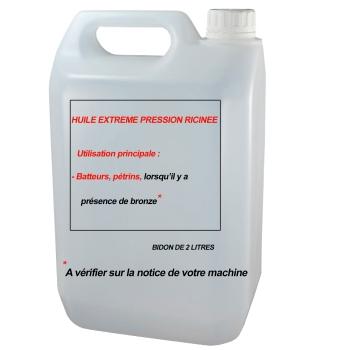 HUILE RICINEE - BATTEUR PETRIN AVEC PRESENCE DE BRONZE