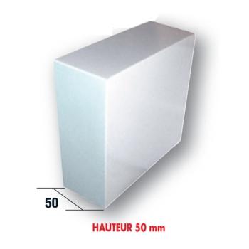 25 BOITES PATISSIERES BLANCHES 35X35 - HAUTEUR 5 CM