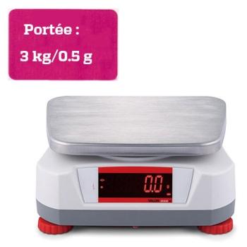 BALANCE COMPACTE - Portée maximale 3 kg