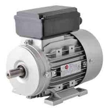 MOTEURS ELECTRIQUES MONOPHASES TYPE B3 1500T/MIN 4 PÔLES - 0.75 kW
