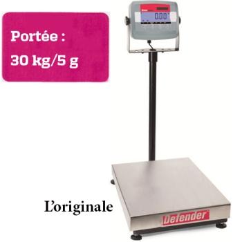 BALANCE DE COMPTOIR - PORTEE MAXIMUM 30 KG-