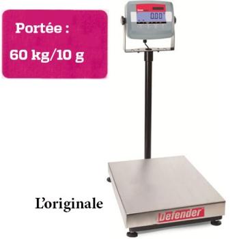 BALANCE DE COMPTOIR - PORTEE MAXIMUM 60 KG-