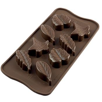 PLAQUE SILICONE POUR CHOCOLAT 10