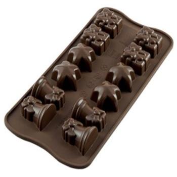 PLAQUE SILICONE POUR CHOCOLATS 9