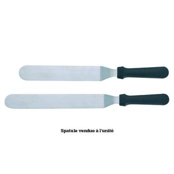 SPATULE COUDEE INOX