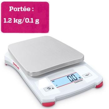 BALANCE PORTABLE COMPASS - Portée 1.2 kg
