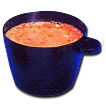 TASSE A CAFE PLASTIQUE - NOIRE