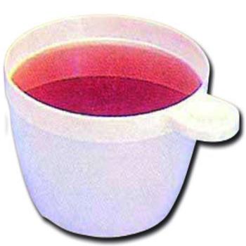 TASSE A CAFE PLASTIQUE - BLANCHE