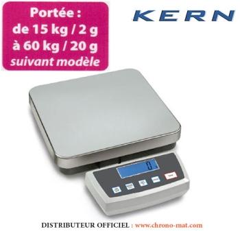 BALANCE DE BOULANGERIE - Portée de 15 à 60 kg