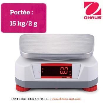 BALANCE DE LABORATOIRE COMPACTE - Portée 15 kg