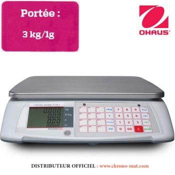 BALANCE COMPTOIR - Portée 3 kg