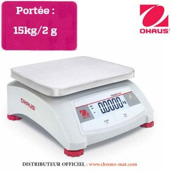 BALANCE COMPTOIR COMPACTE - Portée 15 kg
