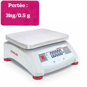 BALANCE COMPACTE DE  COMPTOIR - Portée 3 kg