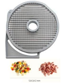 GRILLE MACEDOINE - 12x12 MM - DITO SAMA - pour coupe-légumes TRK - TRS - TR210