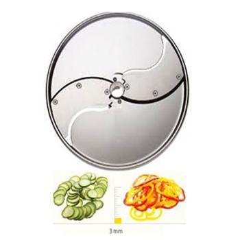 PLATEAU TRANCHEUR INOX - 3 MM - DITO SAMA - pour coupe-légumes TRK - TRS - TR210