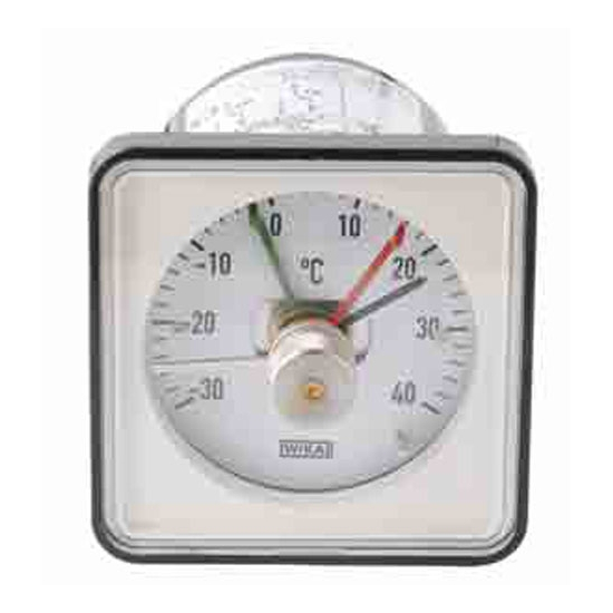THERMOSTAT THERMOMETRE WIKA 72X72 MM -