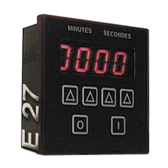 MINUTERIE ELECTRONIQUE DIGITALE MONOGAME BIPOLAIRE